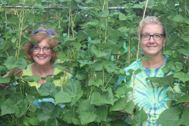 Sisters, two peas